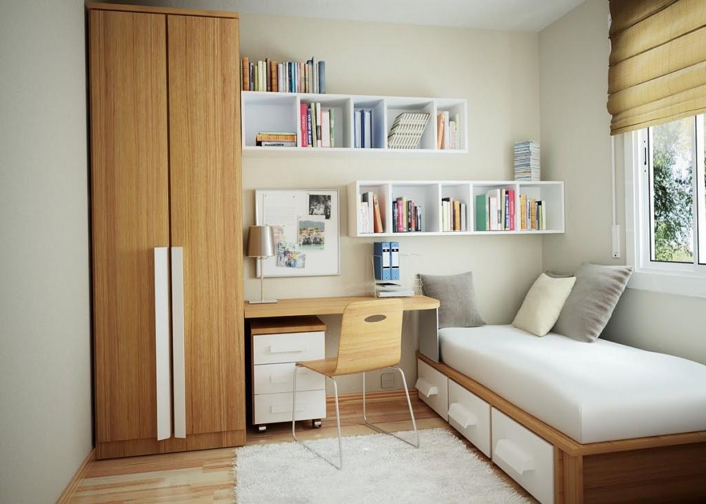 habitacion pequeña moderna