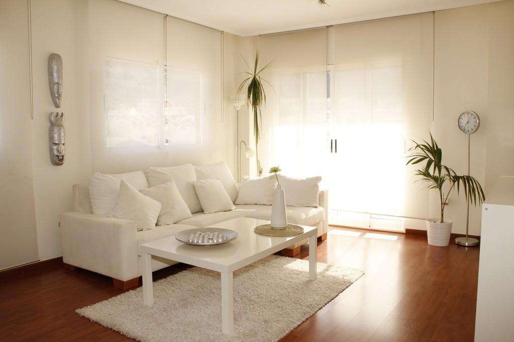 sala luz blanca